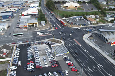 SH1 Greenwood St / Killarney Rd Intersection Improvements