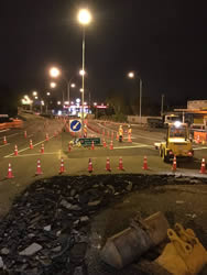 NZTA – SH1 / SH26 Morrisville Rd Roundabout Improvement Works
